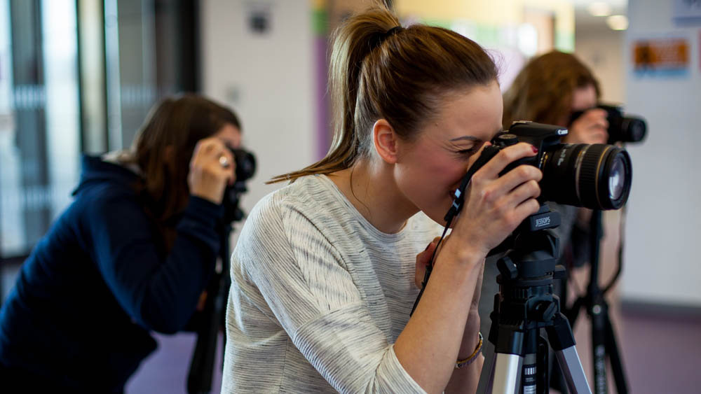 We Provide High-Quality Training in Photography Courses