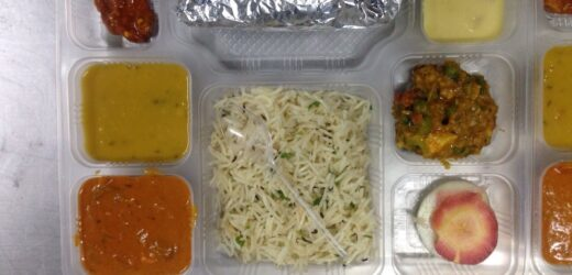Ordering food for pregnant ladies in train